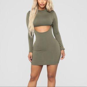 Craving More Dress - Olive